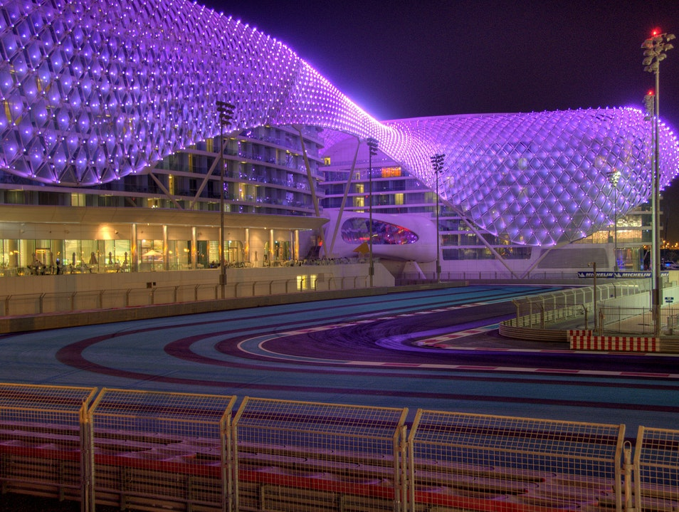 Elegance and Speed at Yas Viceroy