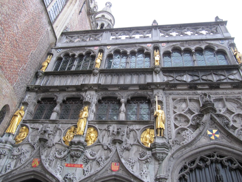 Basilica of the Holy Blood Bruges  Belgium