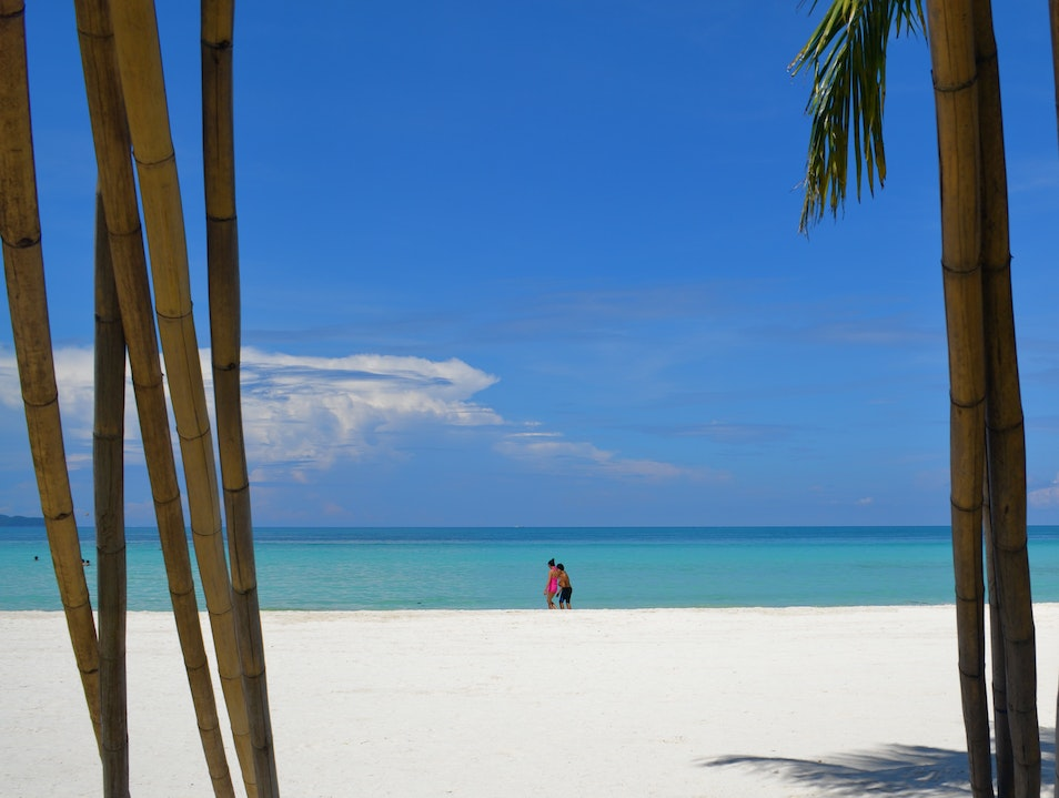 White Beach Malay  Philippines