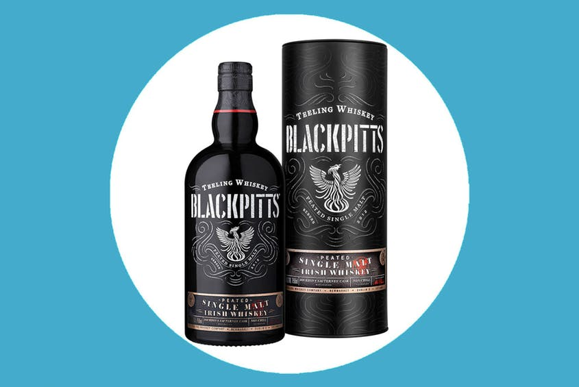 Blackpitts Peated Single Malt Irish Whiskey won't be available in the U.S. until January, but Teeling has plenty of whiskey available to buy now.