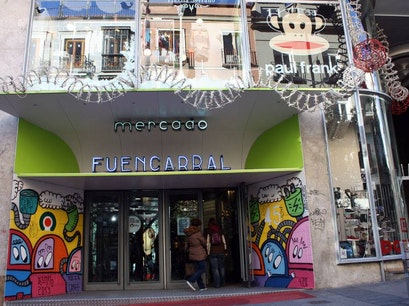 Mercado De Fuencarral Madrid  Spain