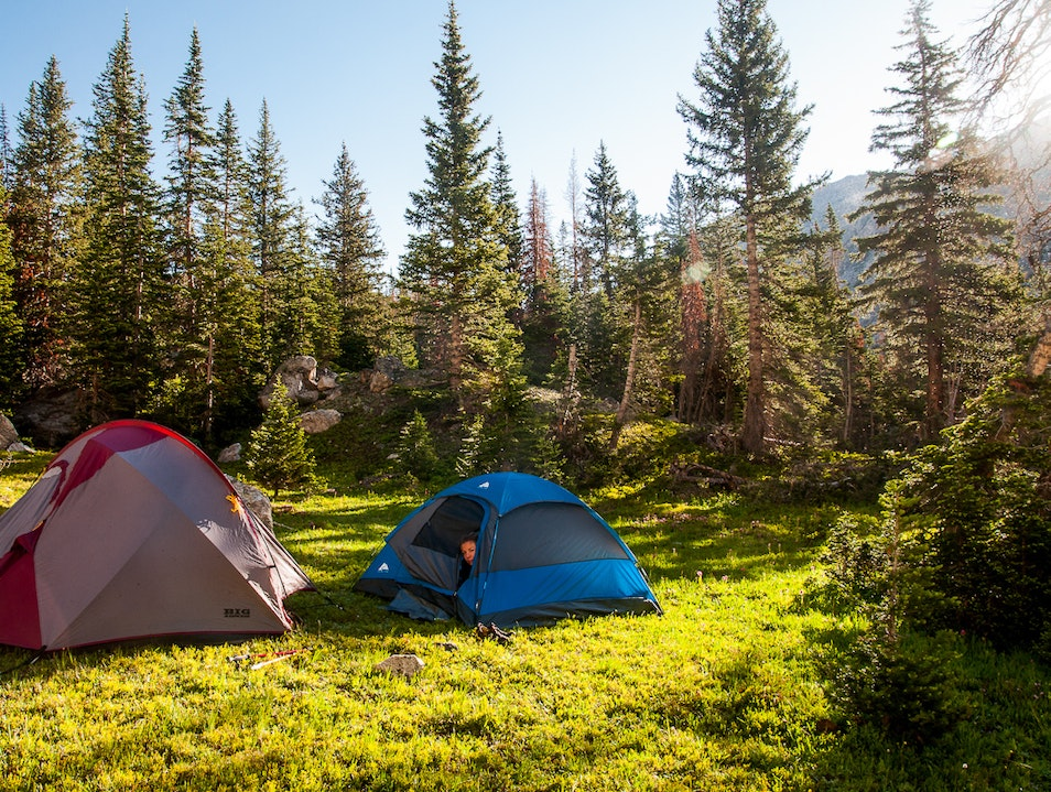 Backpacking for the Intrepid  Yellowstone National Park Wyoming United States