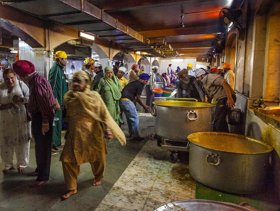 In the Kitchen, Sunday Dinner for 50,000  New Delhi  India