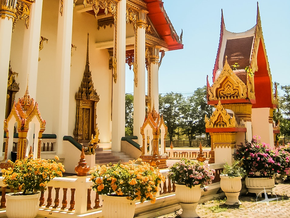 A Stunning Buddhist Temple Chalong  Thailand