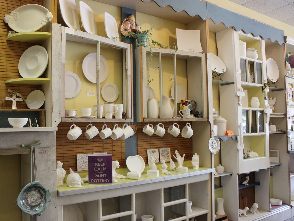 Paint Your Own Pottery in Houston, Texas