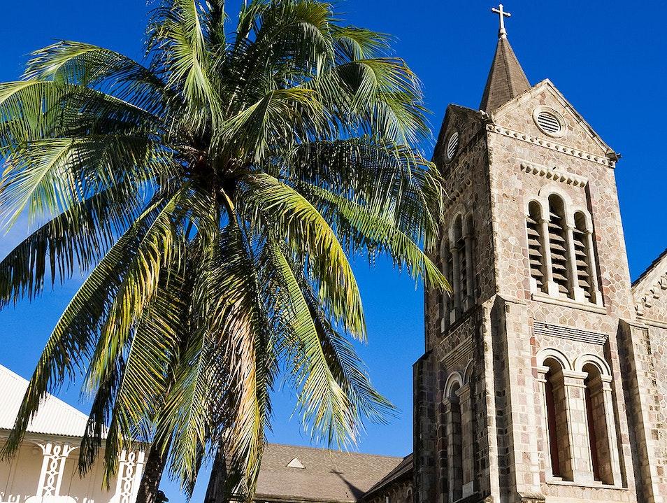 Immaculate Conception Co-Cathedral Basseterre  Saint Kitts and Nevis