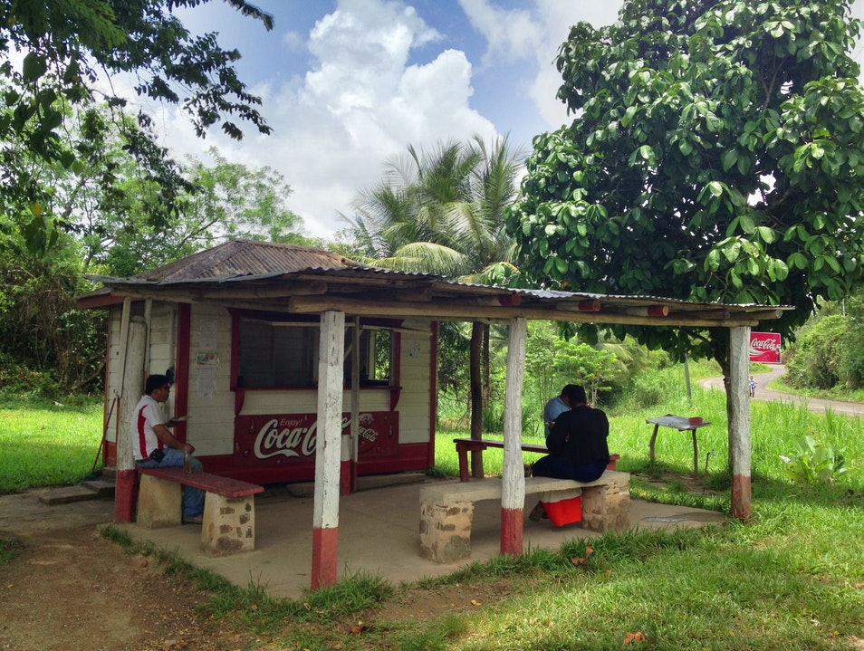 Eat at Ms. Bertha's Tamales on the Hummingbird Highway Stann Creek  Belize