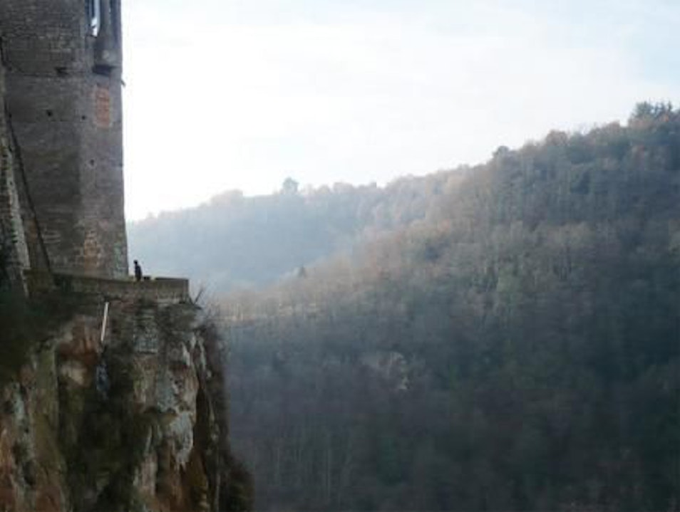 A Real Fiscal Cliff Calcata  Italy