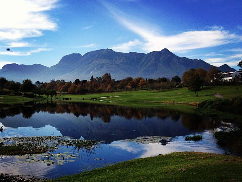 Fancourt — Prettiest Golf Course on the Planet? Possibly.