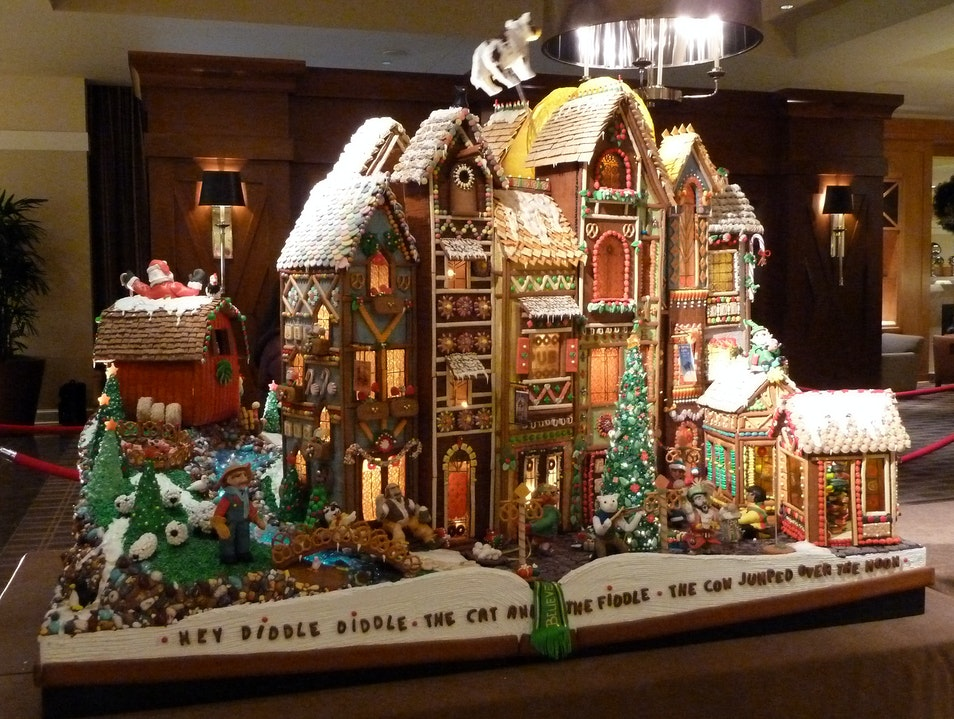 Take a Sweet Stroll Through a Gingerbread Village Seattle Washington United States