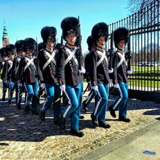 Changing of the Guards - Rosenborg Castle and Royal Treasure