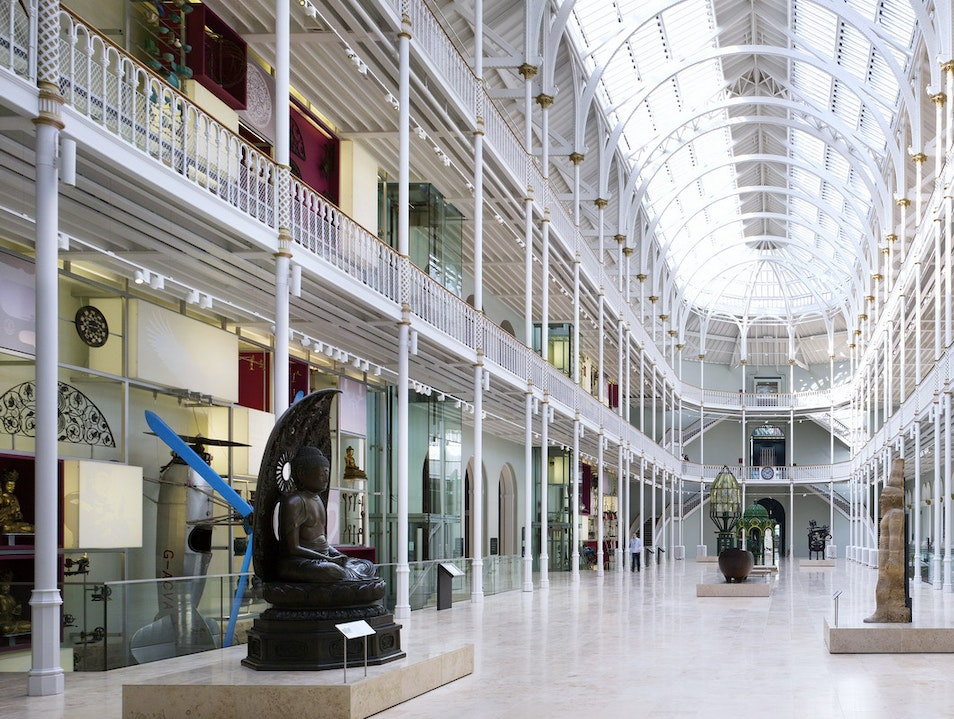 National Museum of Scotland Edinburgh  United Kingdom