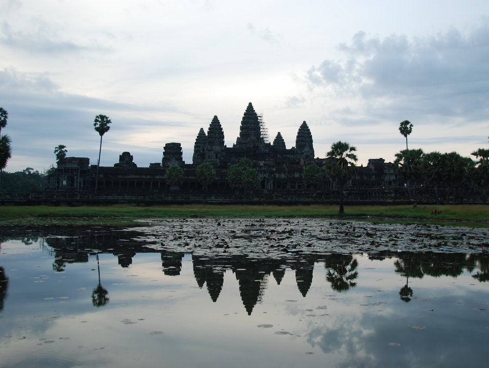 Sunrise Over an Ancient Kingdom Siem Reap  Cambodia