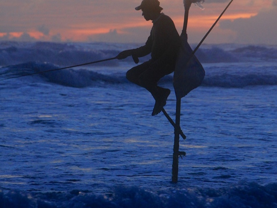 A Bad Day of Fishing is Better than a Good Day of Work Galle  Sri Lanka