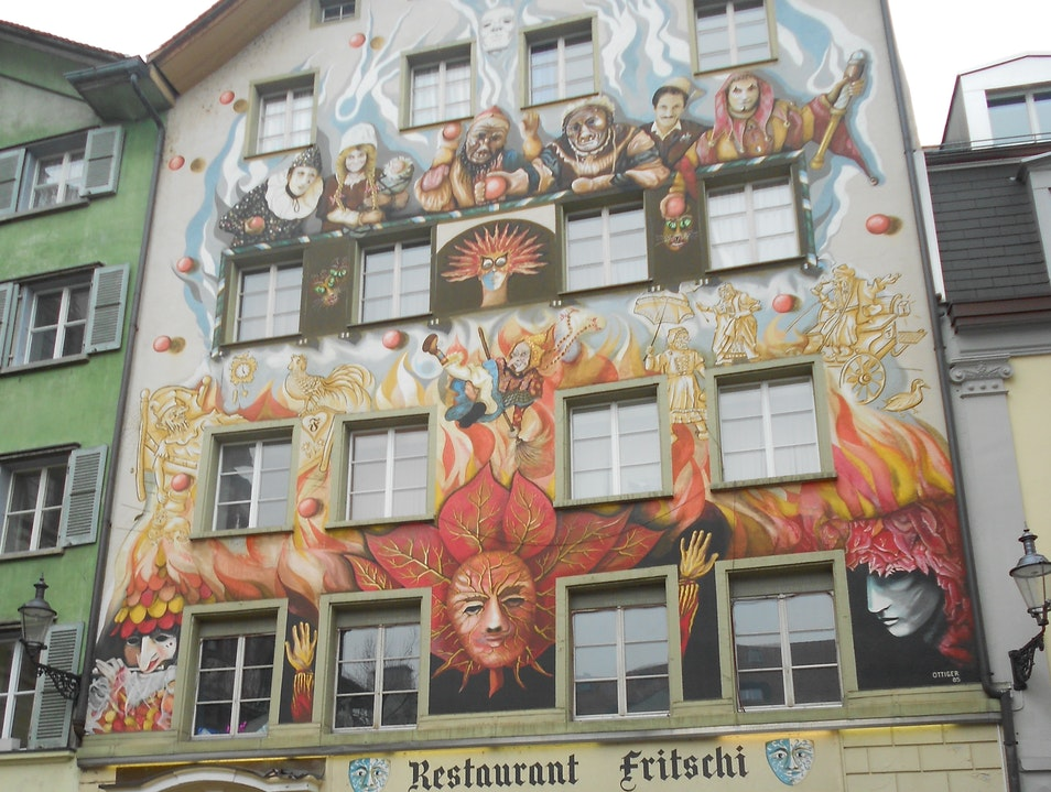 Beautiful Buildings! Lucerne  Switzerland