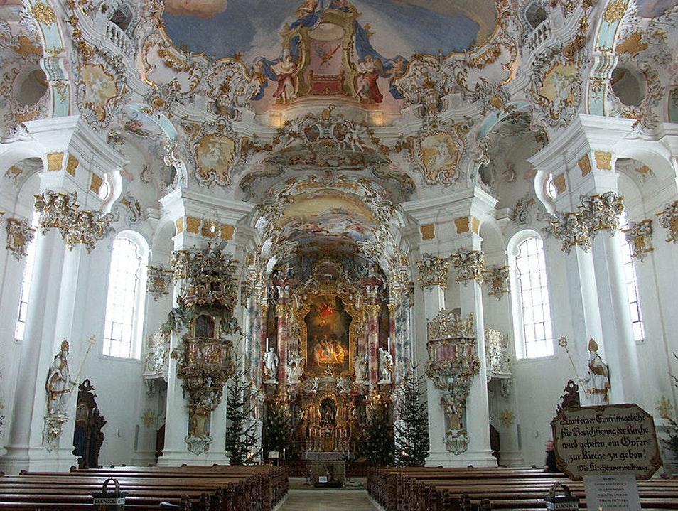 Pilgrimage Church of Wies: A UNESCO World Heritage Site Steingaden  Germany