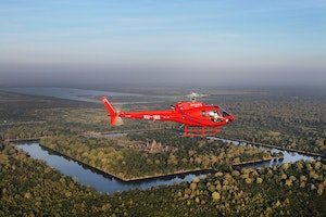Angkor Archaeological Park Helicopter Ride