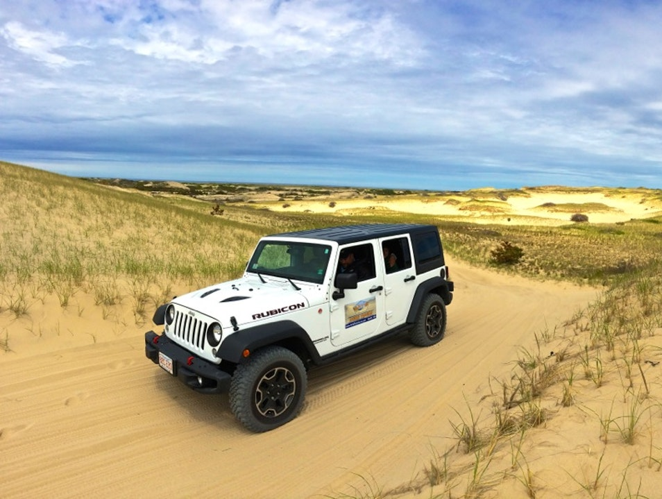 Touring the Sand Dunes of Cape Cod in Style