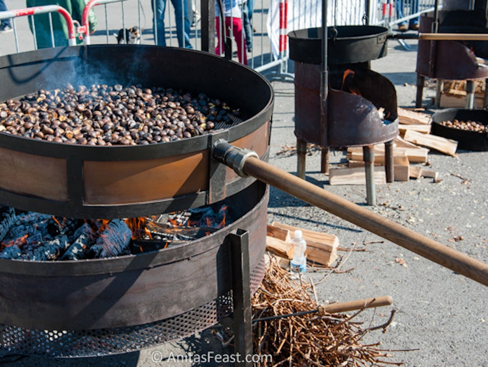 Go nuts for chestnuts! Ascona  Switzerland