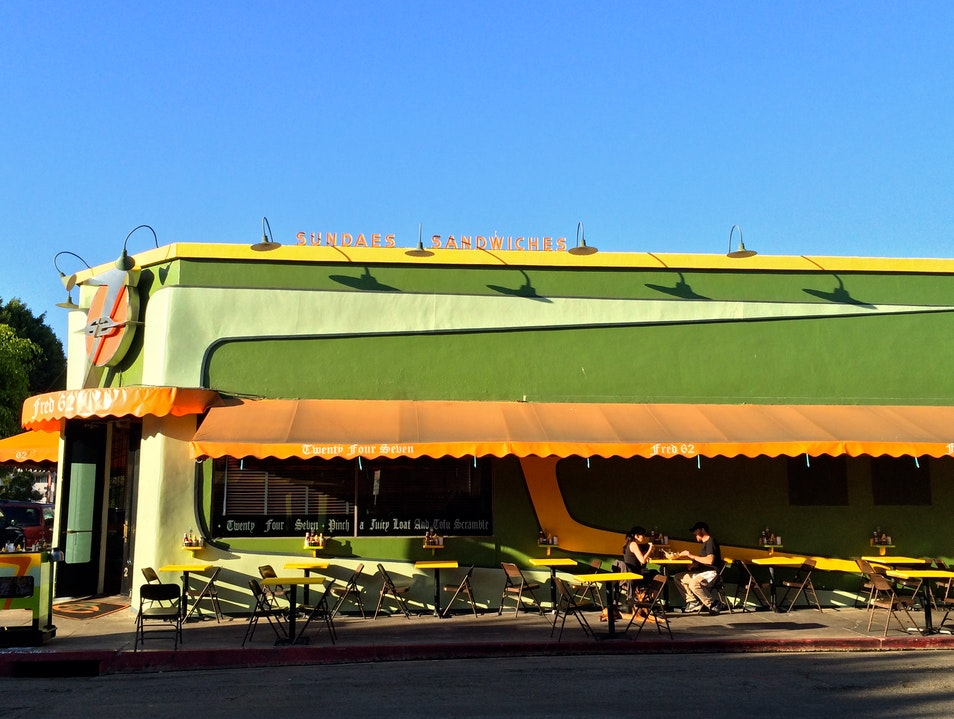 Nostalgic Retro Diners Los Angeles California United States