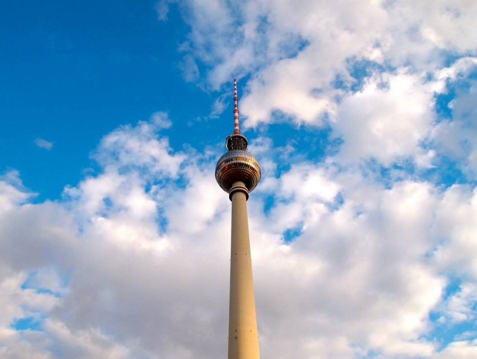 An afternoon in Alexanderplatz Berlin  Germany