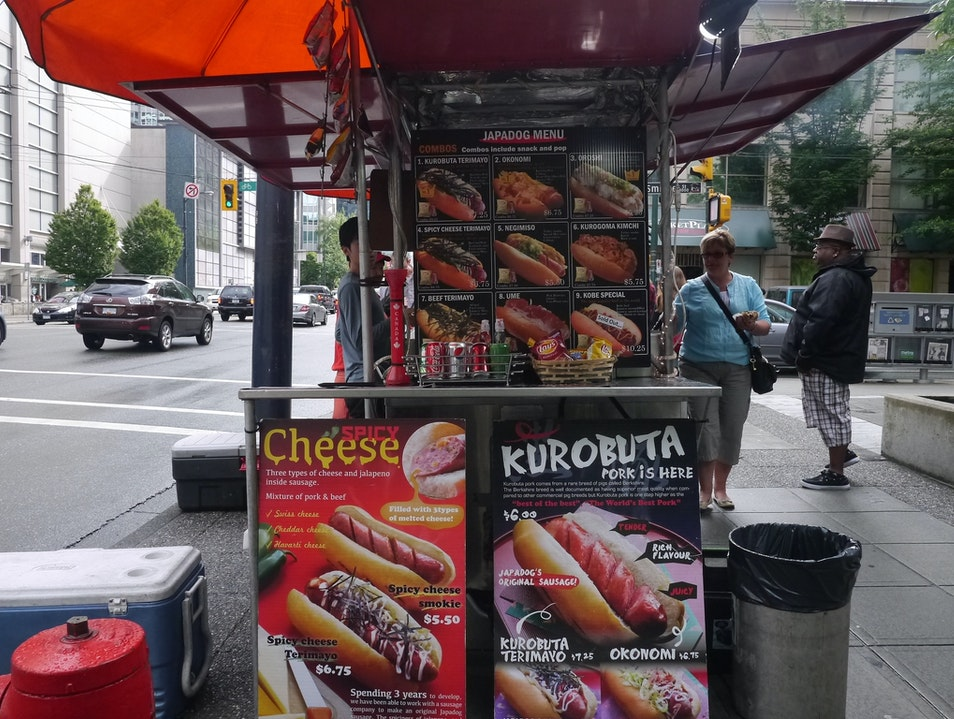 Japanese-Inspired Hot Dogs at Japadog