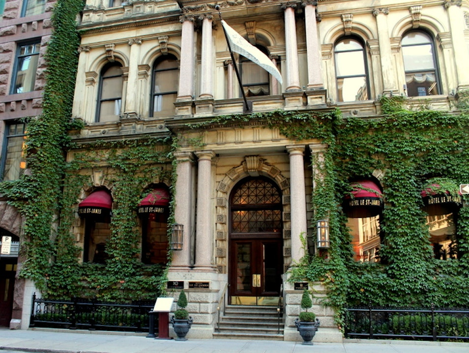 Epic Luxury in Old Montreal Montreal  Canada