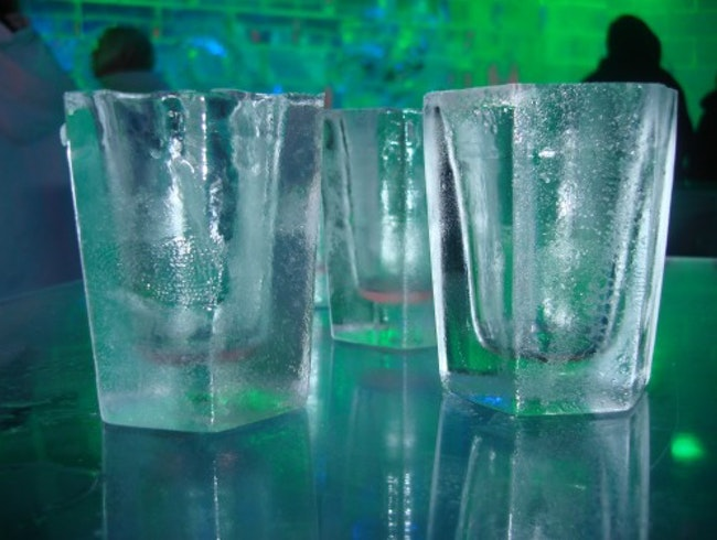 Stay Chilled in the Ice Bar