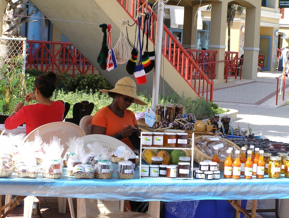 One-of-a-Kind Gifts at Craft Market in George Town George Town  Cayman Islands