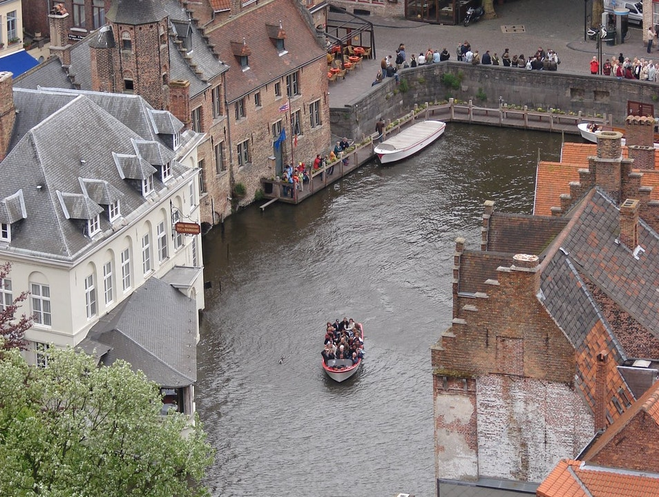 A View from the Belfry Bruges  Belgium
