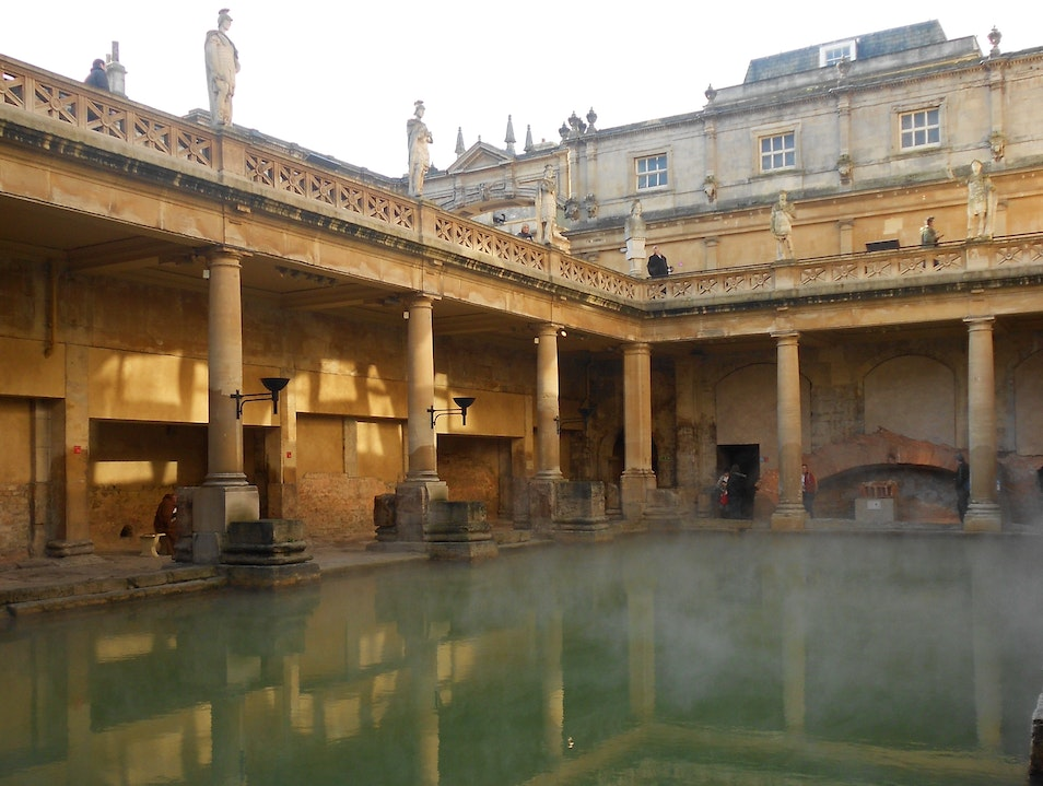 Roman Baths Bath  United Kingdom