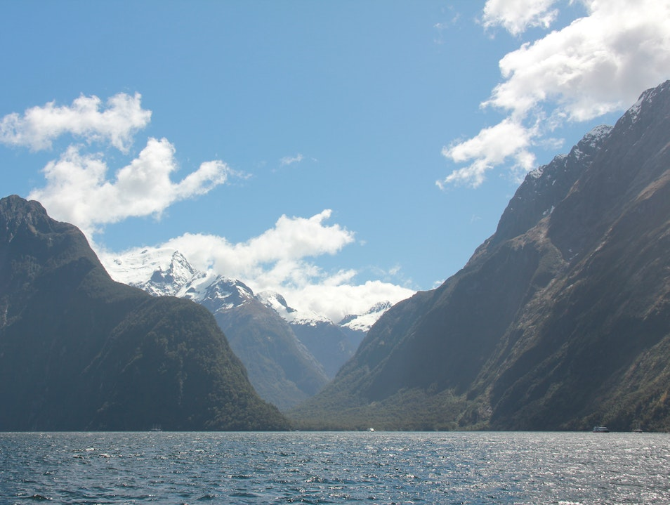 Day trip to Milford Sound Queenstown  New Zealand