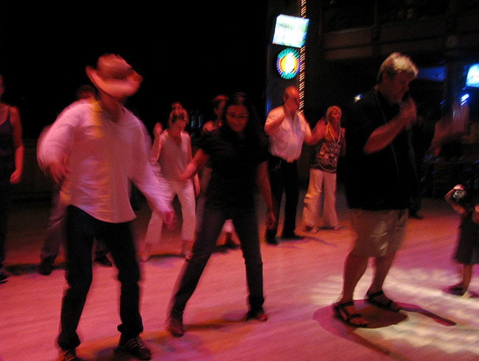 Learn to Line Dance at the Wild West  Houston Texas United States