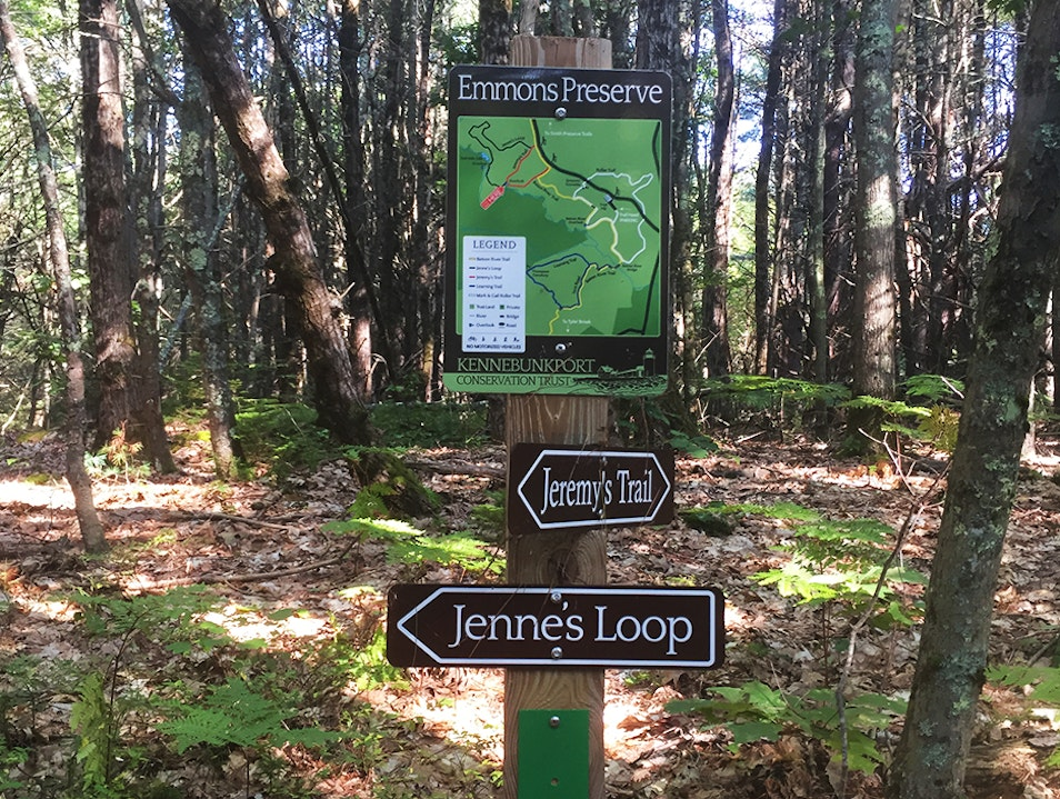 Hiking in Kennebunkport Maine