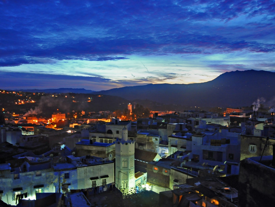 In Morocco's Blue City, it's all about the view