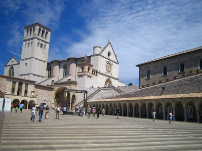 Basilica of San Francesco D'Assisi Assisi  Italy