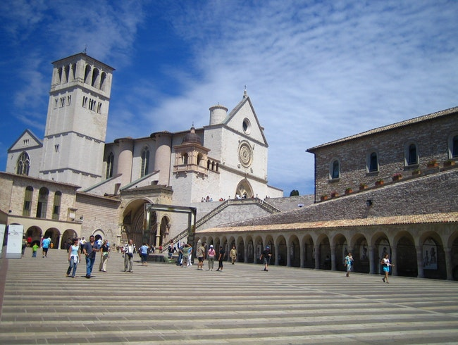 St Francis Church in Assisi