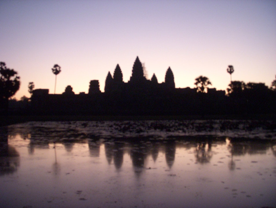 Wake Up  Angkor Wat Siem Reap  Cambodia