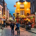 The Temple Bar Dublin  Ireland