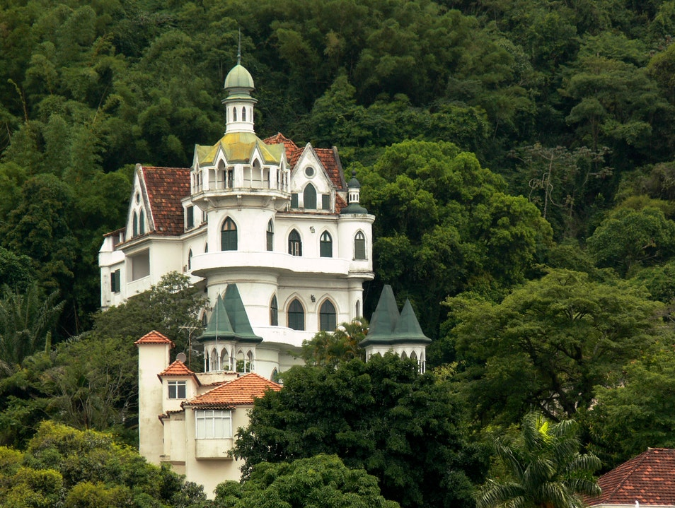 The Little Castle in Santa Teresa, Brazil