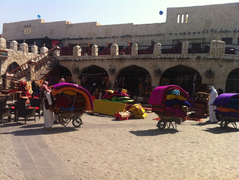 Stay, Eat, Shop, Bargain at Souq Waqif Doha  Qatar