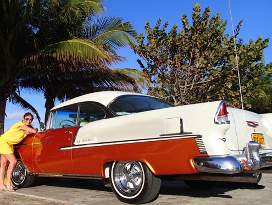 Time Travel to the 1950's with Cars in Cuba Varadero  Cuba
