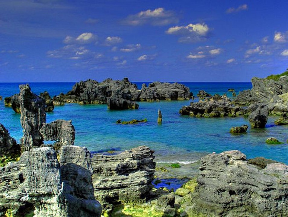 Sunsets and Seclusion on Bermuda Beaches: West Whale Bay, Chaplin Bay, and Stonehole Bay Southampton  Bermuda