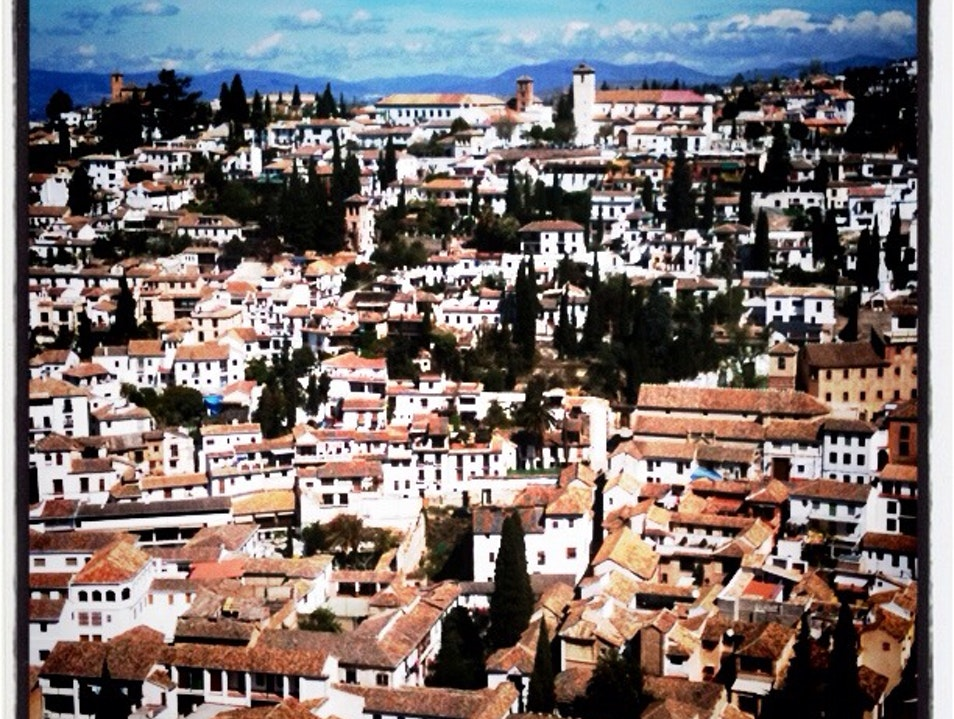A Place I Love To Get Lost In, The Albaycin District Of Granada  Granada  Spain