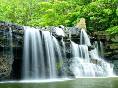 Brush Creek Falls Princeton West Virginia United States
