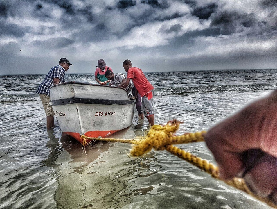 Local Fisherman Paternoster  South Africa