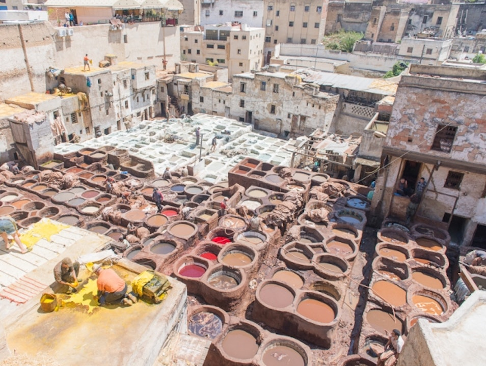 Chouara Tannery | Ancient Leather in Fez, Morocco Fes  Morocco