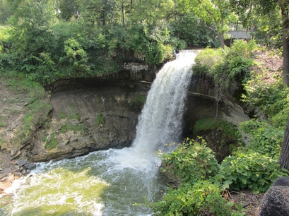 Minnehaha Falls Minneapolis Minnesota United States