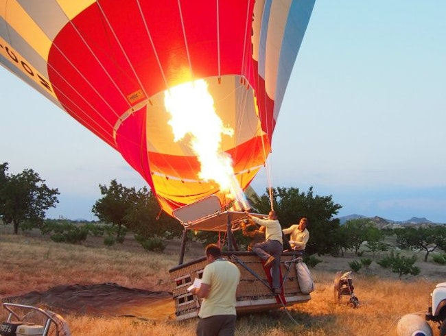 Hot Air Balloons Are Really HOT