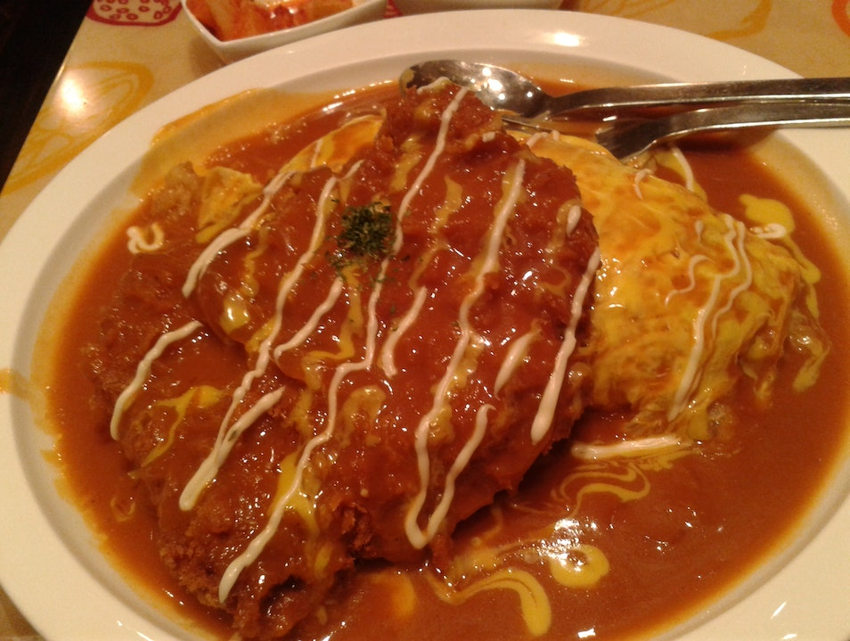 ....mmmmm Omelet Rice :) Incheon  South Korea